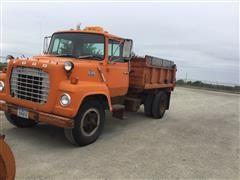 1980 Ford R707 Dump Truck W/Blade