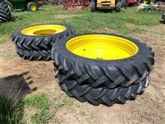 Goodyear 380/90R54 Tires & John Deere Rims
