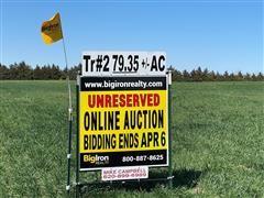 79.35+/- Acres Reno County, KS