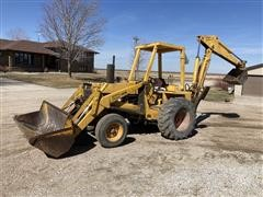 Case 580B 2WD Loader Backhoe