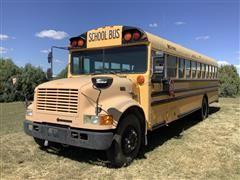 1996 International Bus w/ Carpenter Body