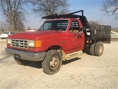 1990 Ford F350 Super Duty Dump Truck