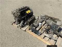 Deutz TD 2011 L 041 4 Cylinder Diesel Engine