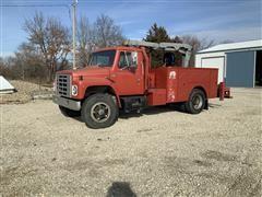 1986 International 1654 S/A Service Truck W/Mechanic's Boom