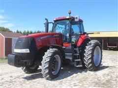 2010 Case IH Magnum 225 CVT MFWD Tractor