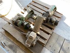 John Deere R28002R Rollomatic Narrow Front Pedestal Assemblies