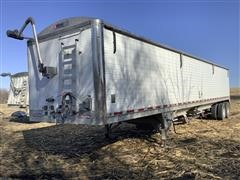 2014 Wilson DWH-550 T/A Aluminum T/A Grain Trailer