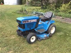 Ford LGT 16D Lawn Tractor W/Mower Deck