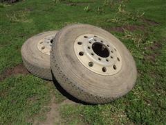 Bridgestone 11R22.5 Truck Tires & Rims