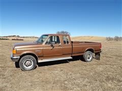 1988 Ford F250XL 4x4 Extended Cab Pickup
