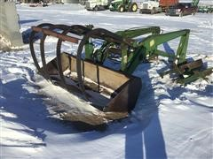 John Deere 158 Tractor Mount Loader