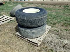 Bridgestone & Michelin 425/65R22.5 Tires