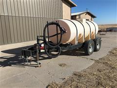 Wylie 1250 Gallon T/A Nurse Trailer