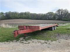 1992 Felling FT24 T/A Flatbed Trailer