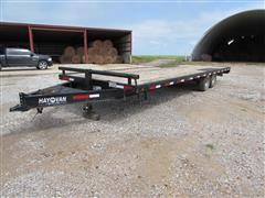 2012 Hay Van 8' X 26' T/A Flatbed Trailer