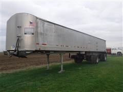 2002 Vantage 39' Aluminum T/A End Dump Trailer