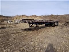 1993 Wilson CF900 Spread Axle Flatbed Trailer