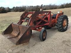 1967 Allis-Chalmers D17 Series IV 2WD Tractor W/Loader