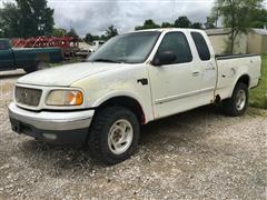 2000 Ford F150 XLT 4x4 Pickup