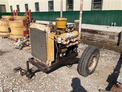 Caterpillar 3145 Diesel V8 Power Unit (INOPERABLE)