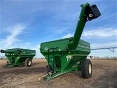 J&M 750 Auger Wagon Grain Cart
