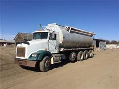 1993 Kenworth T450 Quad/A Bulk Feed Truck