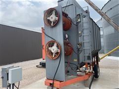 Farm Fans CF2251230NG Grain Dryer W/Grain Screener