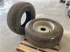 BF Goodrich /Michelin 385/65R22.5 Tires & Rim