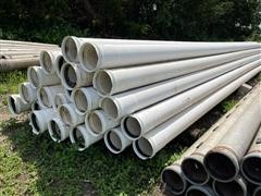 "8"" PVC Blank Mainline Irrigation Pipe"