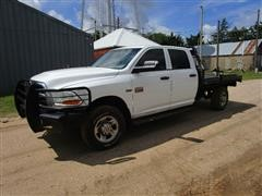 2012 Dodge Ram 2500 HD 4WD 4 Door Pickup & Chisolm Trail Bale Bed