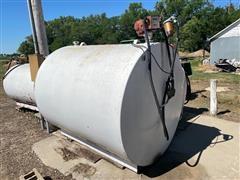 1000-Gal Fuel Tank & Pump