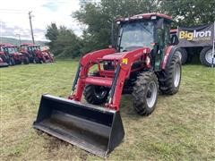 2016 Mahindra 6065 4WD Compact Utility Tractor W/Loader
