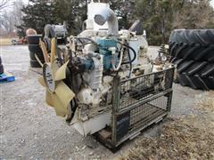 Caterpillar 3406B Engine W/Eaton Transmission