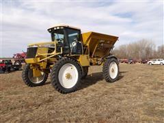 2002 Ag-Chem RoGator 854 Row Crop Dry Fertilizer Applicator