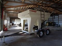 2007 Friesen 240 T/A 2 Compartment Bulk Seed Tender