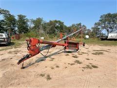 Peck 8X61' Auger W/ Swing Out Hopper