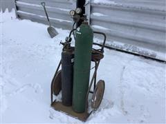 Oxy-Acetylene Torch W/Cart