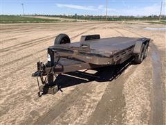 2011 Quality T/A Tilt-Deck Bumper-Pull Trailer