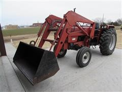 1988 Case IH 585 2WD Tractor W/Loader
