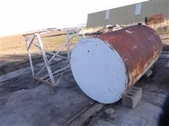 Steel 300-Gal Fuel Tank & Stand
