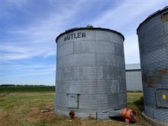 """Butler 18' X 20' Grain Bin W/18"""" Fan"""