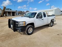 2007 Chevrolet 2500 HD 4x4 Extended Cab Pickup