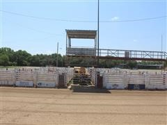 W W Manufactured Rodeo Arena