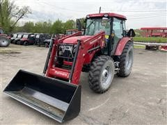 2015 Mahindra 105S MFWD Tractor W/Loader
