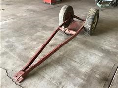 Shop Built Narrow Front End Tractor Trailer