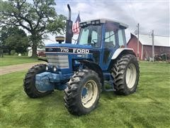 1991 Ford 7710 MFWD Tractor