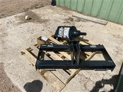 Lowe BP-230 Post Digger Power Head Skid Steer Attachment