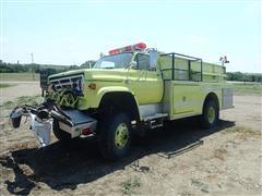 1988 GMC 7000 4x4 Fire Truck
