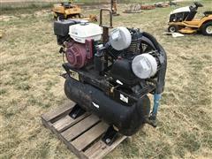 Portable 30-Gal Honda Powered Air Compressor