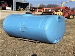 Snyder 850 Gallon Poly Tank